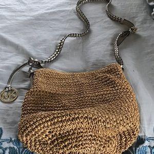 MK Straw Handbags